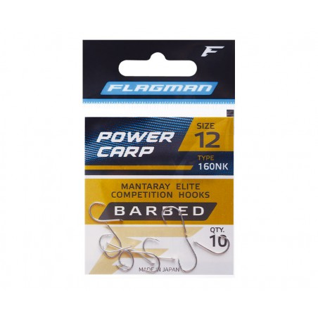 Kabliukai Flagman Power Carp №8