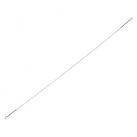 Metalinis, kietas pavadėlis Flagman Ø 0.40 mm, 20 cm (5 vnt)