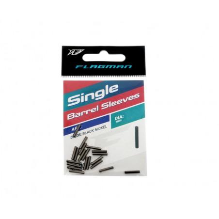 Užspaudžiami vamzdeliai Flagman Single Barrel Sleeves 1.0mm