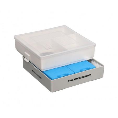 Termo dėžutė masalams Flagman Bait Cooler su šalčio elementais