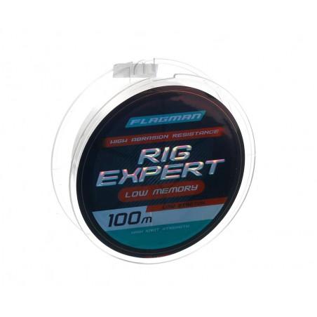 Monofilamentinis valas Rig Expert Line 100m 0.14mm