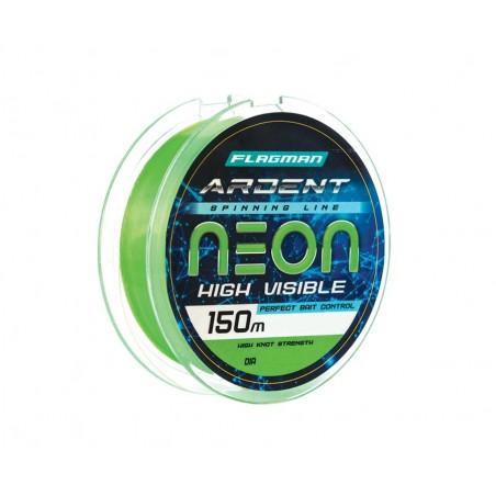 Monofilamentinis valas Flagman Ardent Neon 150m 0.22mm