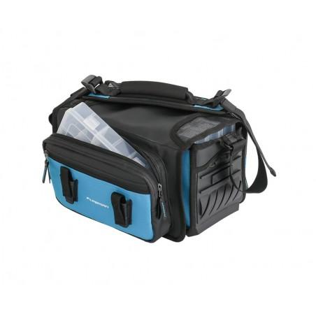Spiningautojo krepšys Flagman Lure Bag su 5 dėžutėmis 29х27х20cm