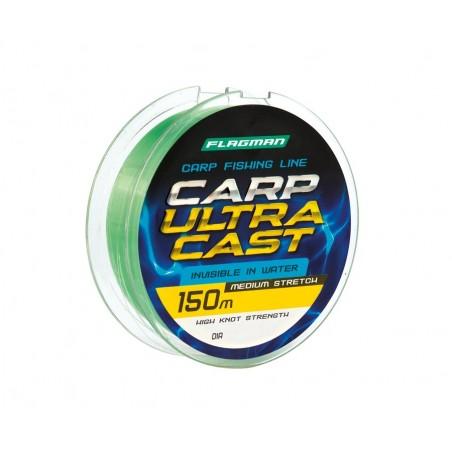 Monofilamentinis valas Flagman Carp Ultra Cast 150m 0.22mm