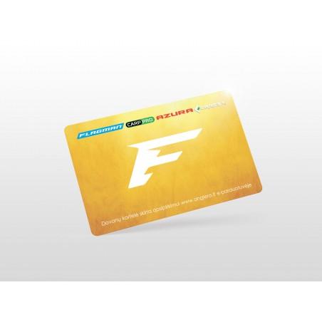 Dovanų kortelė GOLD - 100 EUR vertės