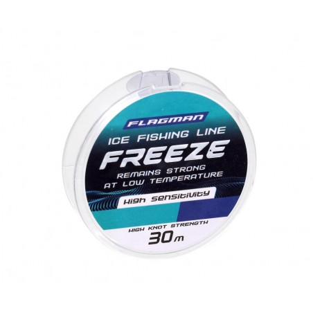 Žieminis valas Flagman Freeze Ice Fishing Line 30m 0.074mm