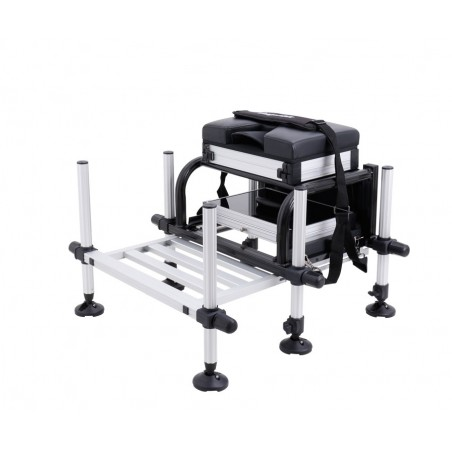 Platforma Flagman High Quality Seatbox with foot plate black frame D36mm