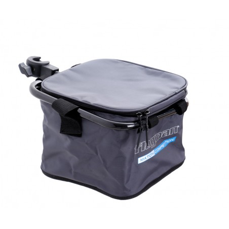 Minkšta talpa su lanku Flagman Nylon bait bowl bag D25mm