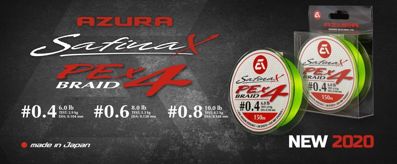 Azura Safina Braid PE X4